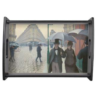 Paris Street; Rainy Day AKA Paris: A Rainy Day Serving Tray