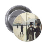 Paris Street, Rainy Day by Caillebotte 6 Cm Round Badge