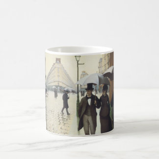 Paris Street, Rainy Day by Caillebotte Classic White Coffee Mug