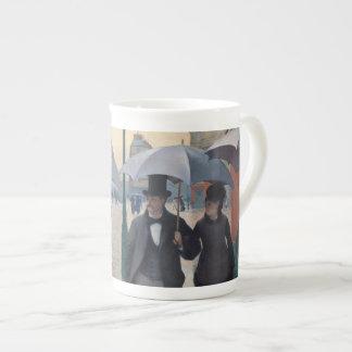 Paris Street Rainy Day by Gustave Caillebotte Bone China Mug