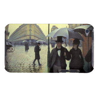 Paris Street Rainy Day by Gustave Caillebotte iPod Case-Mate Case