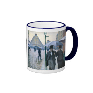 Paris Street Rainy Day by Gustave Caillebotte Coffee Mugs