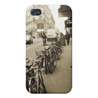 Paris Street Scene iPhone 4 Cover