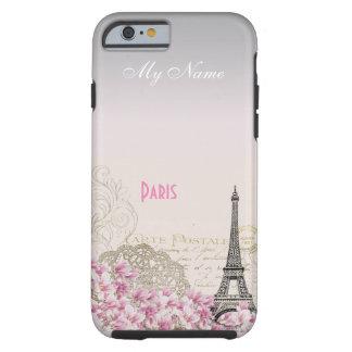 PARIS STYLE | vintage post card Tough iPhone 6 Case