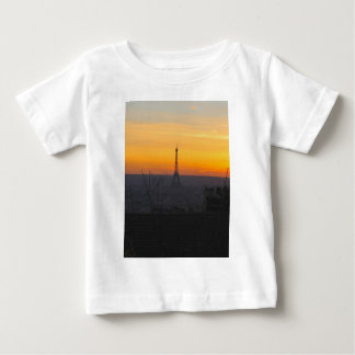 Paris Sunset Baby T-Shirt
