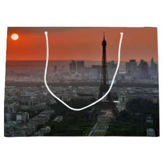Paris Sunset Large Gift Bag