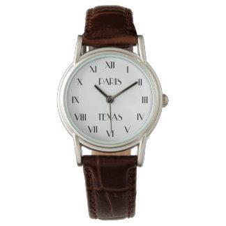 PARIS TEXAS | personal message Watch