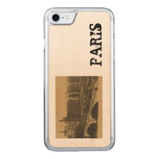 Paris The Bridge of Change Carved iPhone 8/7 Case