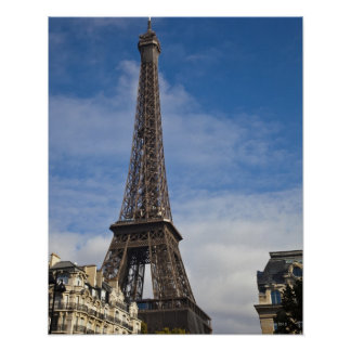 Paris, The Eiffel Tower. Poster