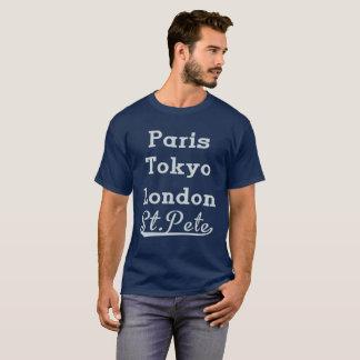 Paris Tokyo London St.Pete T-Shirt