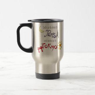 Paris Tokyo Travel Mug