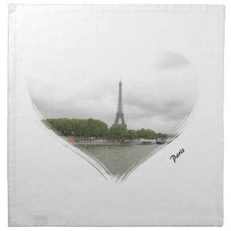 Paris tour eiffel napkin