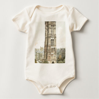 Paris, Tour Saint Jacques Baby Bodysuit
