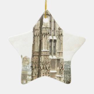 Paris, Tour Saint Jacques Christmas Ornament