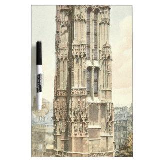 Paris, Tour Saint Jacques Dry Erase White Board