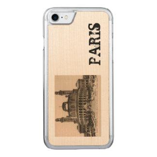 PARIS Trocadero postcard around 1910 Carved iPhone 8/7 Case