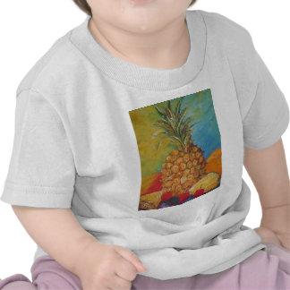 Paris' Tropical Pineapple Shirts