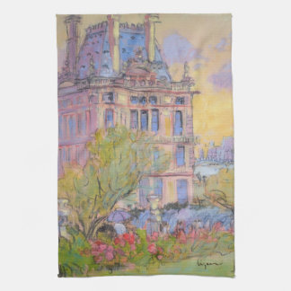 Paris Tuileries Garden Towel