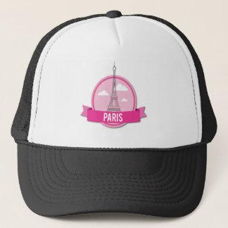 Paris Unique Trucker Hat