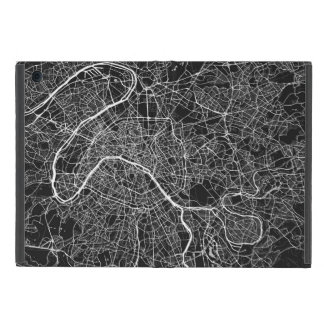Paris urban Pattern BLACK Case For iPad Mini