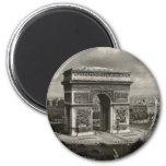 Paris vintage Arc de Triomphe 1943 Magnet