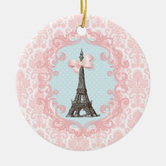 Paris Vintage Christmas Ornament