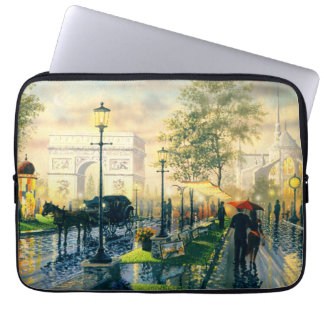 Paris Vintage Laptop Case