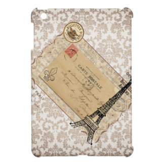 Paris Vintage Shabby Chic Eiffel Tower iPad Mini Covers