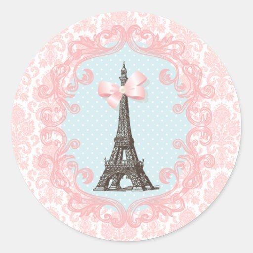 Paris Vintage Stickers