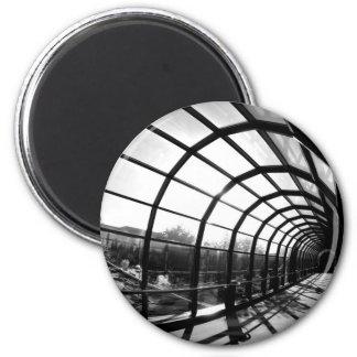 Paris Walkway 6 Cm Round Magnet
