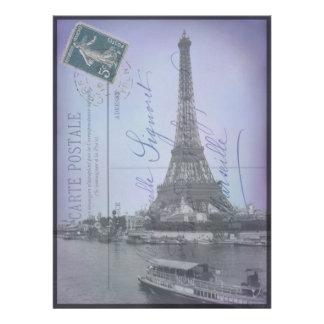 Paris World s Fair French Postcard Invites