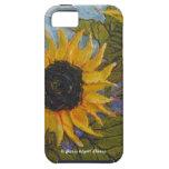 Paris' Yellow Sunflower iPhone 5 Case
