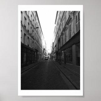 Parisian Alley Poster