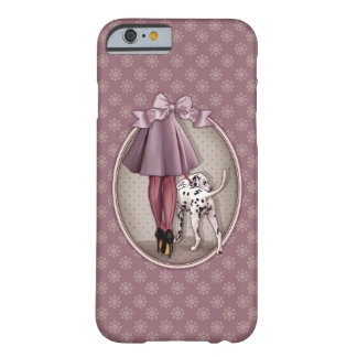 Parisian and its Dalmatian in walk Barely There iPhone 6 Case