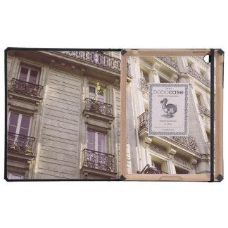 Parisian Architecture, Pink Pastel Photograph iPad Case