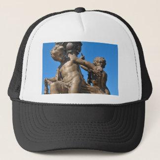 Parisian architecture trucker hat