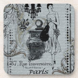 Parisian Fashion Coaster