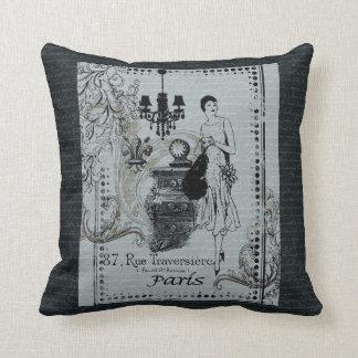 Parisian Fashion Throw Cushions
