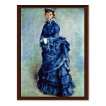 Parisian Girls (The Lady In Blue) By Pierre-August Postcards