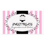 Parisian Pink Stripes Cupcake Cake Bakery