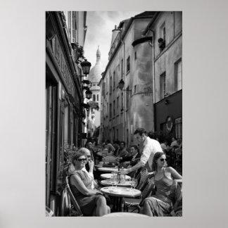 Parisian Street Scene - Poster