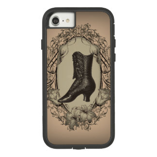 Parisian Vintage Victorian shoe steampunk Case-Mate Tough Extreme iPhone 8/7 Case