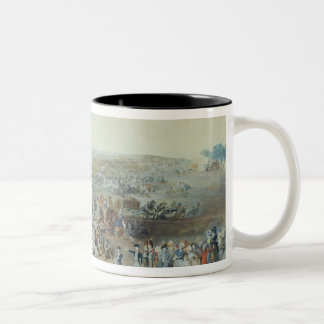 Parisians at the Champ de Mars Two-Tone Coffee Mug