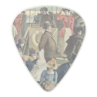 Parisians Returning from the Countryside Acetal Guitar Pick
