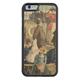 Parisians Returning from the Countryside Carved Maple iPhone 6 Bumper Case