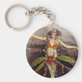 Parisienne Casino Dancer Key Ring