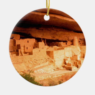 Park Anasazi Ruins Mesa Verde Colorado Christmas Ornament