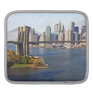 Park and Cityscape iPad Sleeve