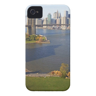 Park and Cityscape iPhone 4 Cases