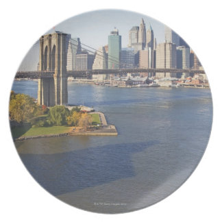 Park and Cityscape Plate
